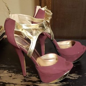 Size 10 Charlotte Russe Heels